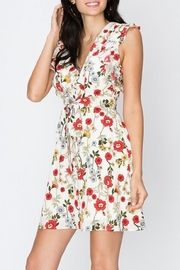 Favlux Floral Ruffle Dress - Product Mini Image