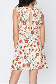 Favlux Floral Ruffle Dress - Front full body