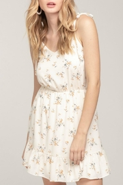 Everly Floral Ruffle Dress - Product Mini Image