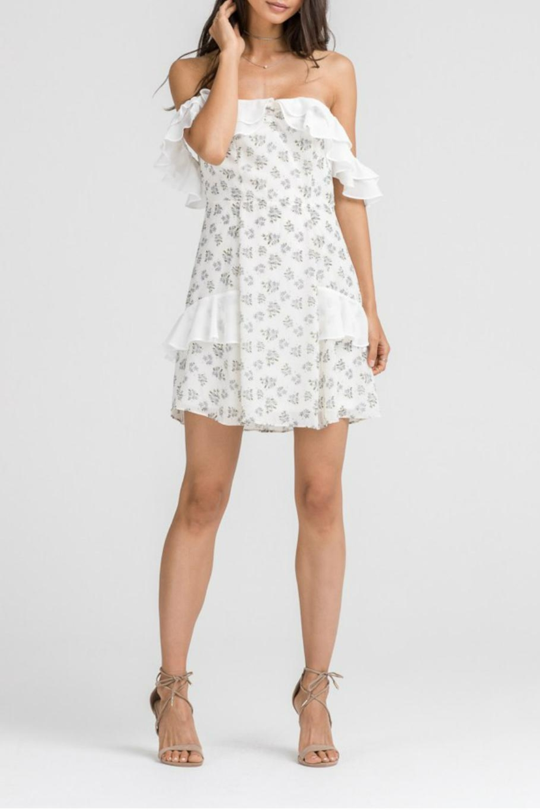 65c277c4aaa Lush Clothing Floral Ruffle Dress from Statesboro by Sole — Shoptiques