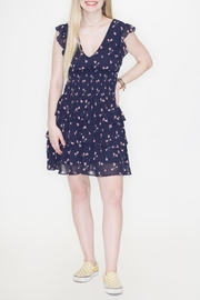 Wild Honey Floral Ruffle Dress - Front cropped