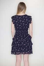 Wild Honey Floral Ruffle Dress - Back cropped