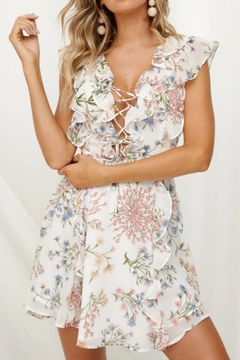 Chikas Floral Ruffle Dress - Product List Image