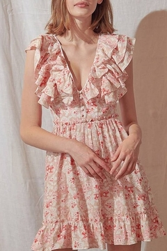 storia Floral Ruffle Dress - Product List Image