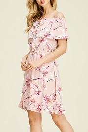 Staccato Floral Ruffle Dress - Other