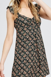 Emory Park Floral Ruffle Dress - Product Mini Image