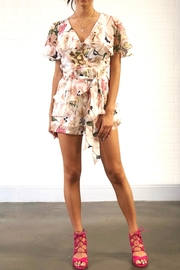 one & only Floral Ruffle Romper - Product Mini Image