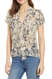 Bishop + Young Floral Ruffle Sleeve Blouse - Product Mini Image