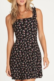 Billabong Floral Ruffle-Sleeve Dress - Product Mini Image
