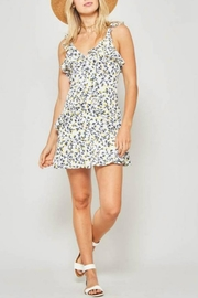 Promesa Floral Ruffle-Trim Dress - Product Mini Image