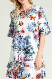 Modern Emporium Floral Ruffles - Front cropped