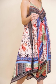 Umgee USA Floral Scarf Dress - Other