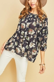 Entro Floral Scoop Neck - Product Mini Image