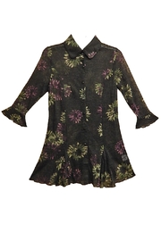 Mechant Floral Sheer Top - Product Mini Image