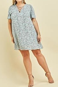 Entro Floral Shift Dress - Alternate List Image