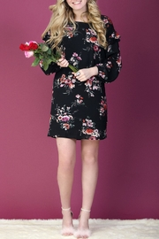Everly Floral Shift Dress - Product Mini Image