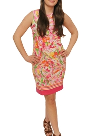 Barbara Ellick Floral Shift Dress - Product Mini Image
