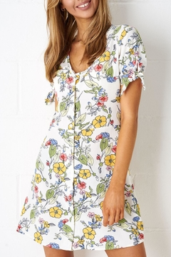 frontrow Floral Shift Dress - Product List Image