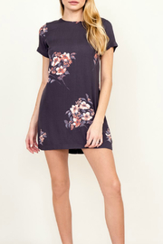 Olivaceous Floral Shift Dress - Product Mini Image