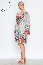 A. Calin Floral Shift Dress - Side cropped