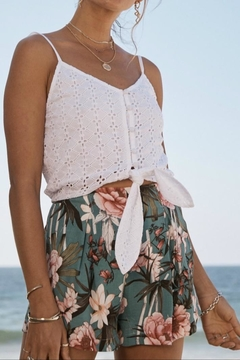 SAGE THE LABEL Floral Shorts - Product List Image