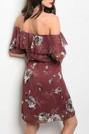 MiniMarket Floral Shoulder Dress - Product Mini Image