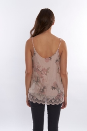 SCANDAL Floral  Silk Blouse - Front full body