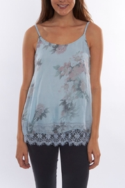 SCANDAL Floral  Silk Blouse - Product Mini Image