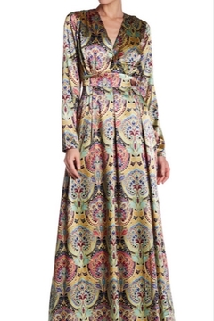 Gracia Floral Silk Maxi - Product List Image