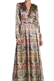 Gracia Floral Silk Maxi - Product Mini Image