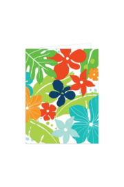 Bradley & Lily Floral Single Card - Product Mini Image