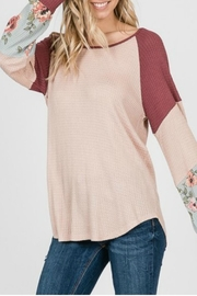 7th Ray Floral Sleeve Pullover - Other