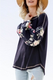 Gifted Floral Sleeve Top - Other