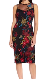 Adrianna Papell Floral Sleeveless Dress - Product Mini Image