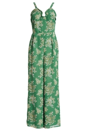 J.O.A. Floral Sleeveless Jumpsuit - Back cropped