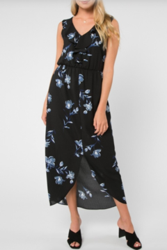 Shoptiques Product: Floral Sleeveless Midi Dress