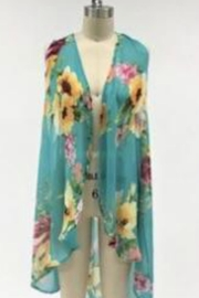 L&B Floral Sleeveless Vest - Product Mini Image