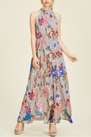 Staccato Floral Slit Maxi - Product Mini Image