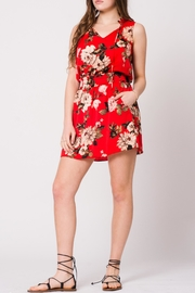 Wanderlux Floral Smock-Waist Dress - Product Mini Image