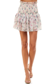 TCEC Floral Smock Waist Skirt - Product Mini Image