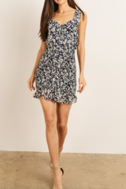 storia Floral Smocked Dress - Front cropped