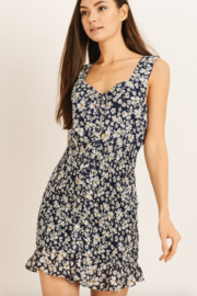 storia Floral Smocked Dress - Side cropped