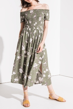 Others Follow  Floral Smocked Midi - Product List Image