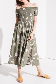Others Follow  Floral Smocked Midi - Product Mini Image
