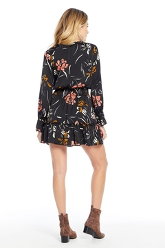 Saltwater Luxe Floral Smocked Waist L/S Dress - Alternate List Image