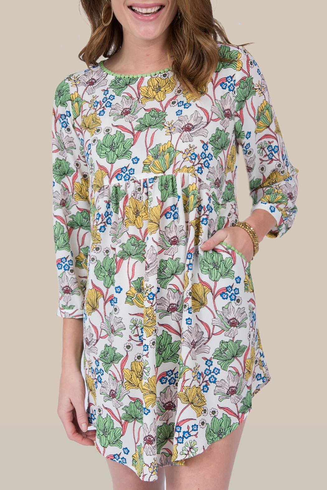 Ivy Jane / Uncle Frank  Floral Spring Tunic - Main Image