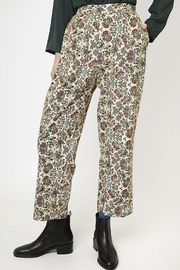 Compania Fantastica Floral Straight Pants - Side cropped