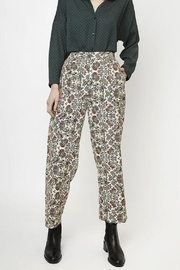 Compania Fantastica Floral Straight Pants - Front cropped