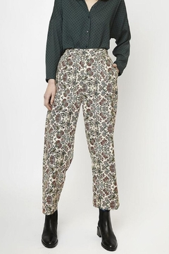 Compania Fantastica Floral Straight Pants - Product List Image