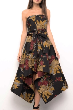 Blithe  Floral Strapless Dress - Product List Image